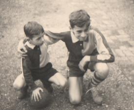 Bruno et Thierry foot